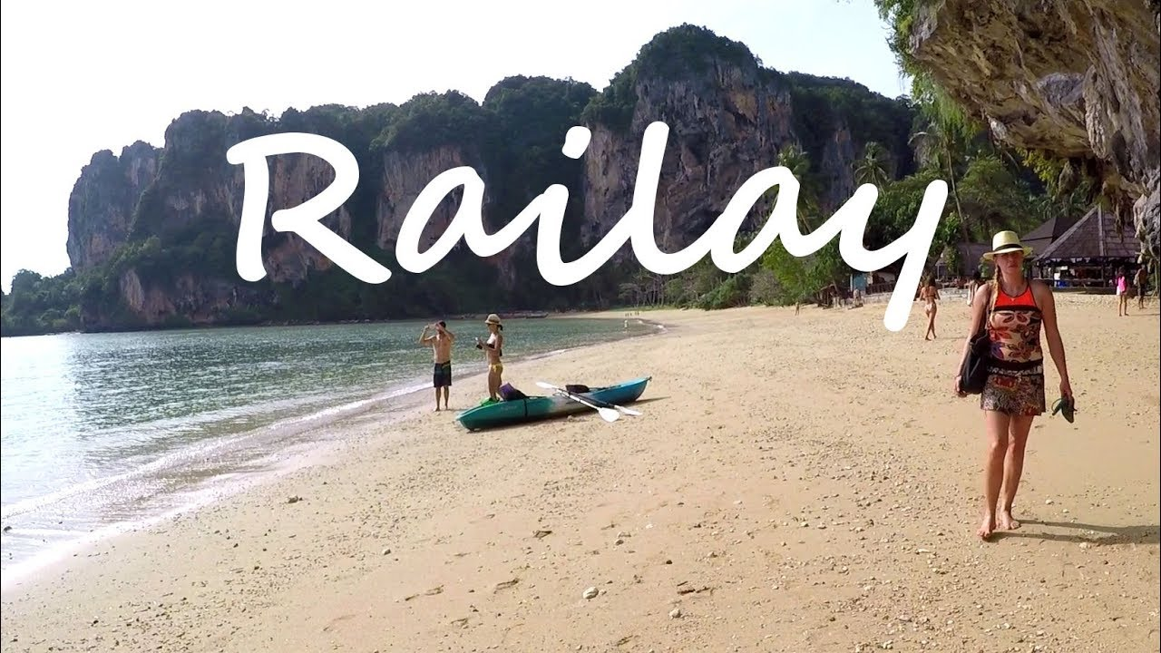 One Day in KRABI, THAILAND: Visiting Beautiful Railay Beach