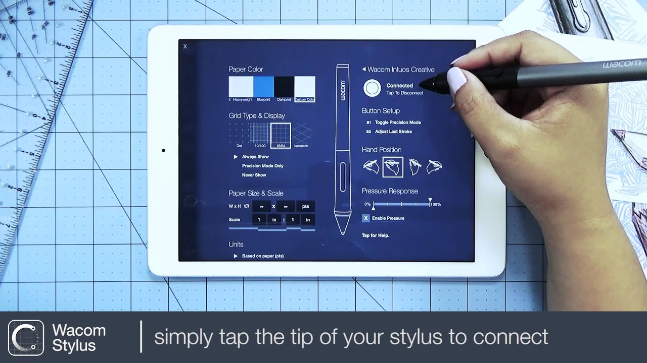 Connect your Wacom Stylus | Learn Concepts