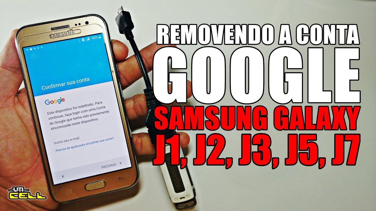 Removendo A Conta Google Do Samsung Galaxy J2 SM J200