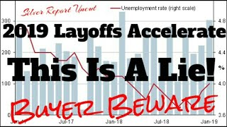 2019 Layoffs Accelerate The Official Unemployment Rate Is A Lie! See Exactly How They Determine It