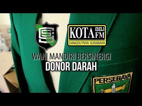 DONOR DARAH KOTA FM DAN SURABAYA JERSEY COMMUNITY