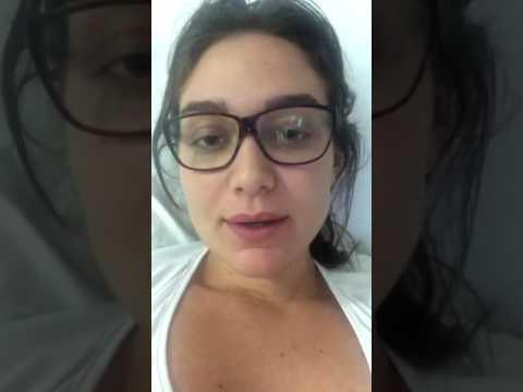 Maria Pinna agradecendo pelos comentários sobre o último capítulo (13/12/2016)
