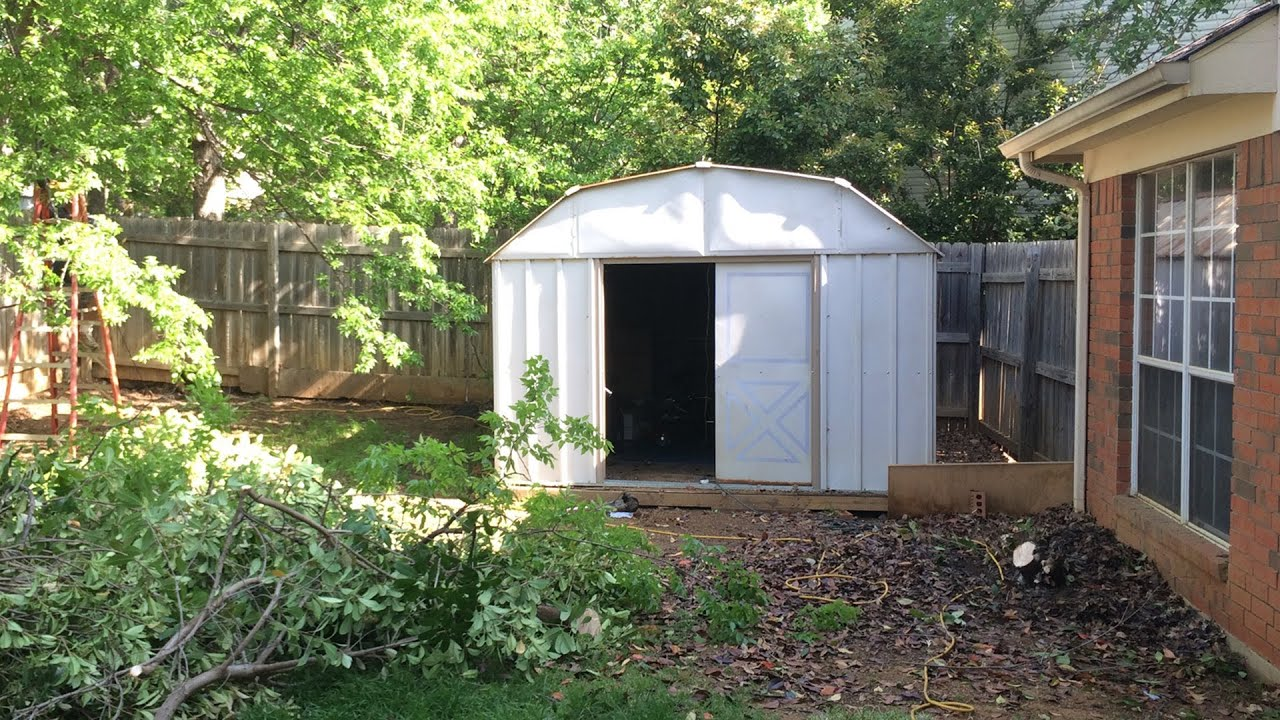 watch how these handymen transform this backyard shed amazing