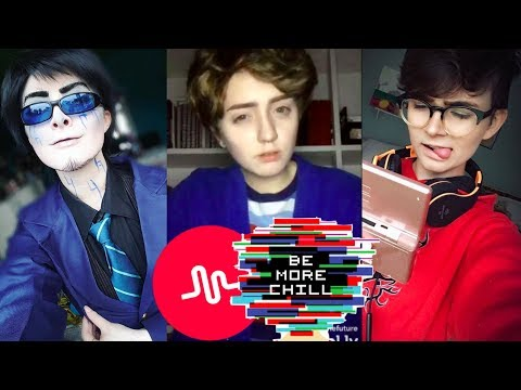 !NEW! Be More Chill Musical.ly Cosplay Compilation 2017