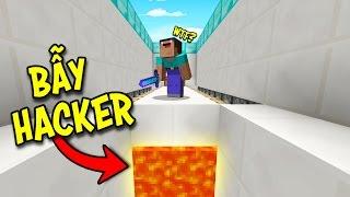 HACKER KHÔNG THỂ VƯỢT QUA BẪY NÀY! (Minecraft Troll Hacker)