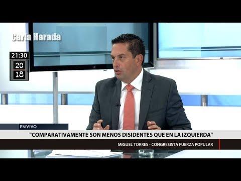 """Congresista Miguel Torres acusa a los """"Avengers"""" de haberse vendido a PPK"""