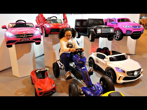 Thumbnail: Power Wheels Ride On Cars Collection - Surprise Toys For Kids - Spring Fair 2017
