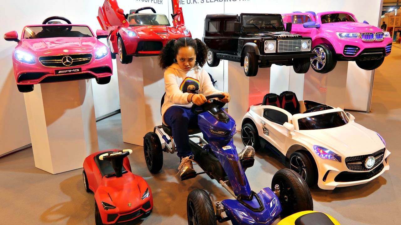 Power wheels ride on cars collection surprise toys for for Toys r us motorized cars