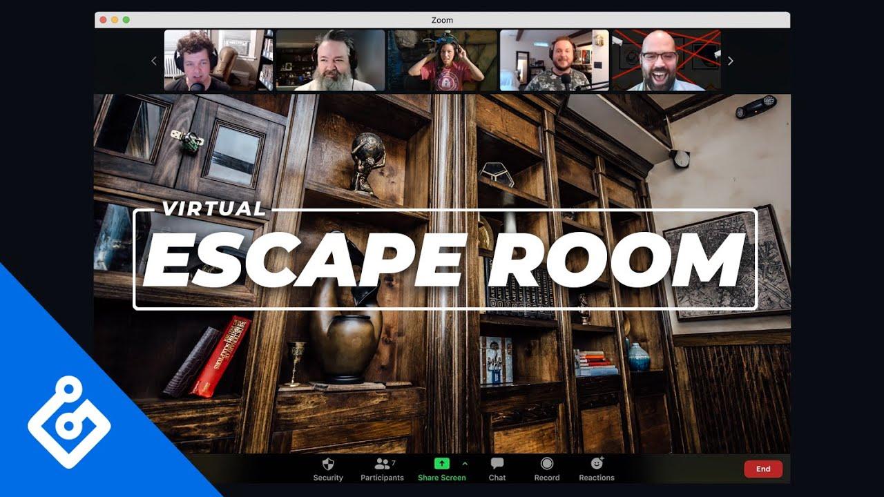 How Do Virtual Escape Rooms Work Youtube
