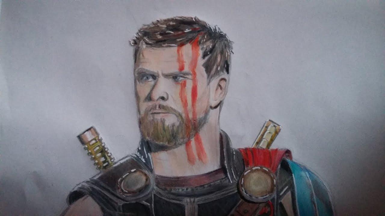 DESSIN-Thor Ragnarok