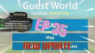 "Roblox- ""Guest World!"" {Episode 35} NEW UPDATE!!!"