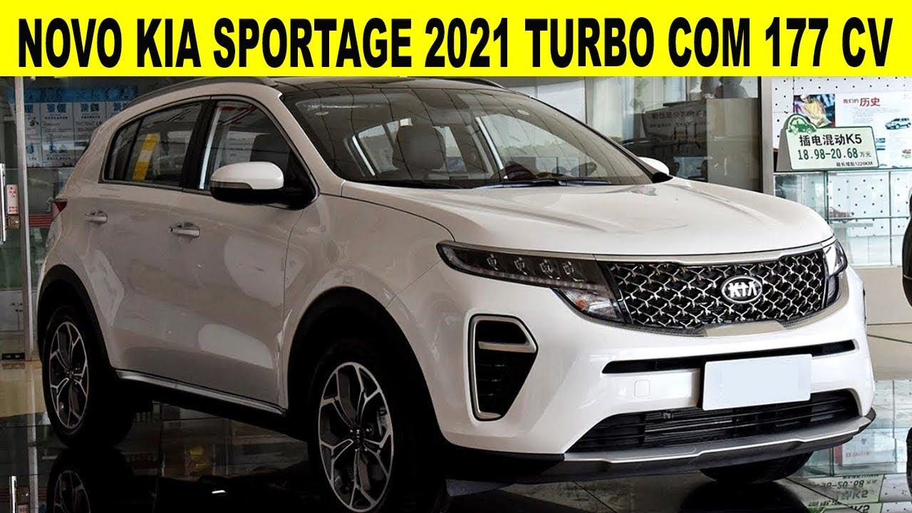 NOVO KIA SPORTAGE 2021 TURBO COM 177 CV E MUITO LUXO - YouTube