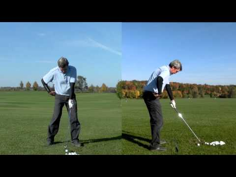 Minimalist Single Plane Golf Swing Video – How to setup and swing.