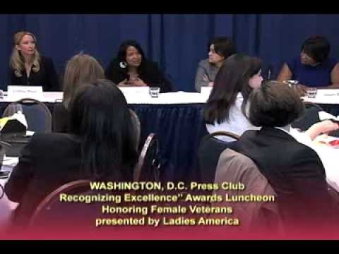 Ladies America Honoring Female Veterans: 1 of 3
