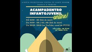 Primeiro Acampadentro Online