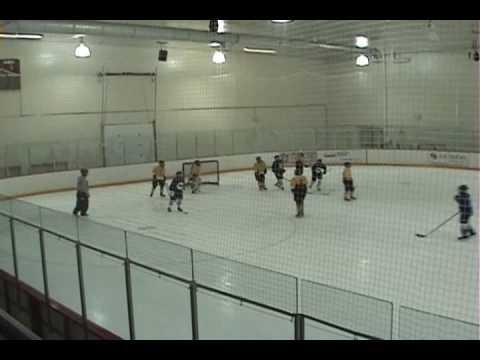 Team Wyoming Bantam A vs. Colo. Springs in Co.