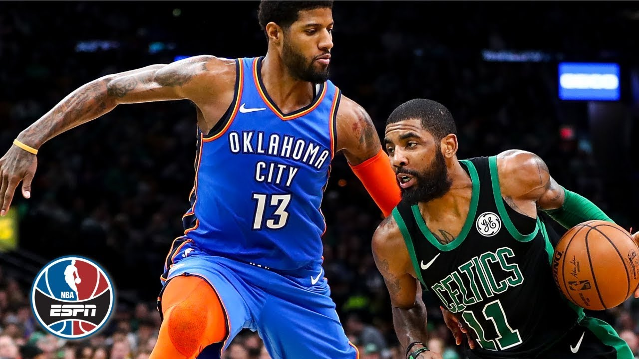 cdad3288c9e4 Kyrie Irving s 30 points outdo Paul George s 37