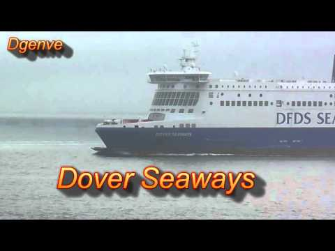 DFDS Seaways - Dunkerque Seaways - Dunkirk to Dover foggy 3 hour crossing
