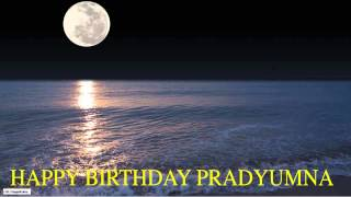 Pradyumna  Moon La Luna - Happy Birthday