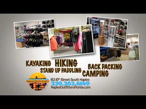 Naples Outfitters 2014 TV Spot0 Kayak and Stand Up Paddle Board Sales, Rentals and Tours