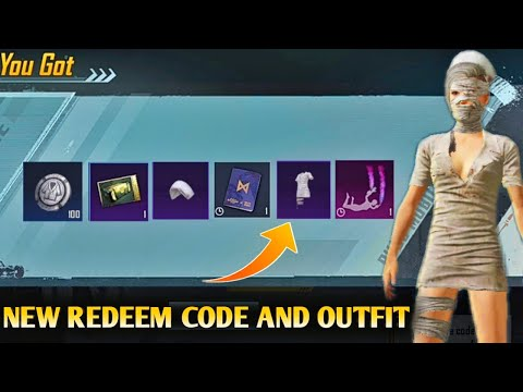 New Redeem Code Godzilla Vs Kong PUBG MOBILE   Free Permanent Mummy Outfit New Event