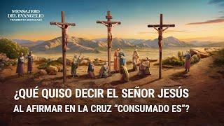 """Película evangélica """"Mensajero del evangelio"""" Escena 1 - ¿Qué quiso decir el Señor Jesús al afirmar en la cruz """"Consumado es""""?"""