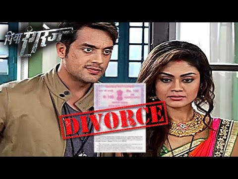 Arjun Forces Aaradhya To Sign DIVORCE Paper | Piya Rangrezz | On Location | Upcoming Episode