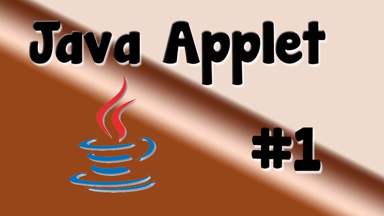 Java Applets Tutorial
