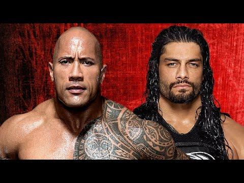 The Rock vs Roman Reigns Wrestlemania 33 Promo HD