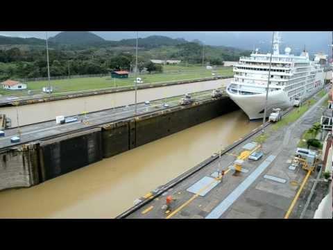 Canal de Panamá - Esclusa de Miraflores - Paso de crucero