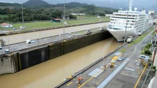 Baixar Canal de Panamá - Esclusa de Miraflores - Paso de crucero