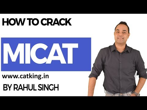 How to crack MICA - Must Watch !