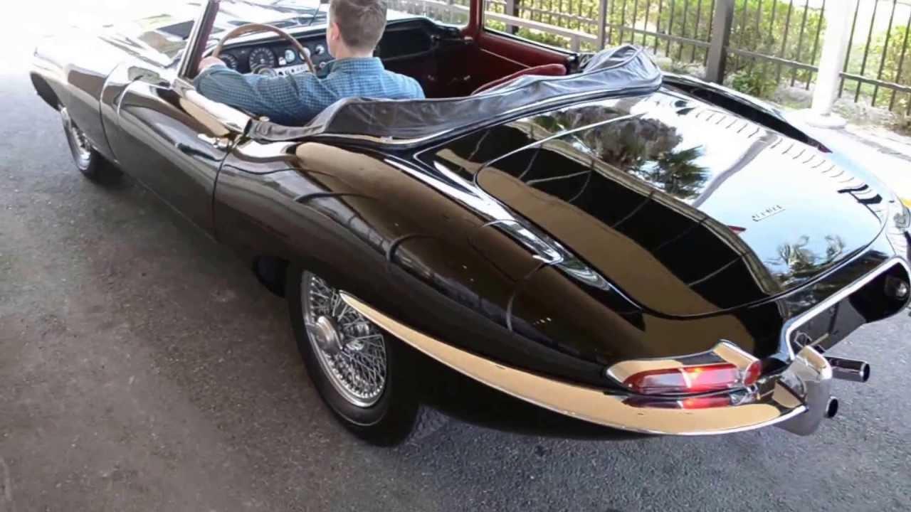 1964 Jaguar E Type Roadster   YouTube