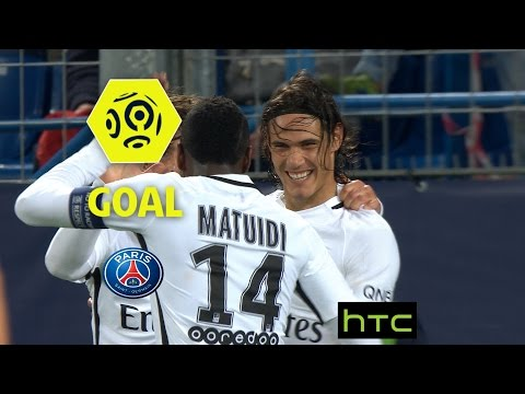 Goal Edinson CAVANI (38') / SM Caen - Paris Saint-Germain (0-6)/ 2016-17
