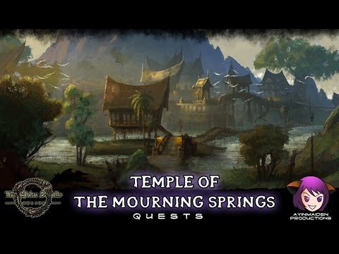 Temple of the Mourning Springs - The Elder Scrolls Online
