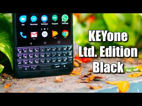 Blackberry KEYone Limited Edition Black Review - QWERTY Goodness!