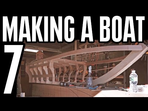 Plywood Electric Boat Build Part 7 - lithium ion powered 2017