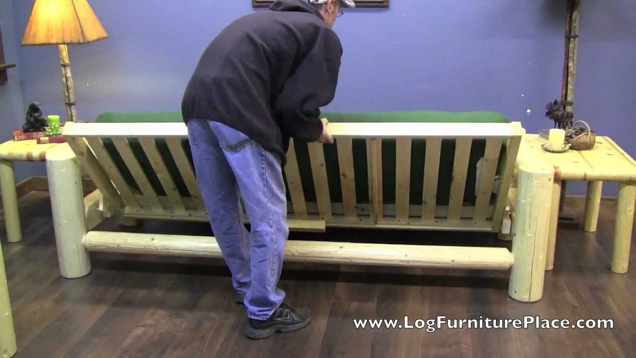 Northern Exposure Log Full Futon By