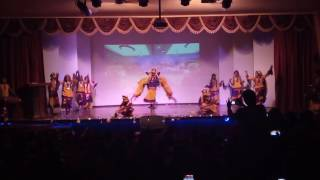 kjk annual function bangra dance