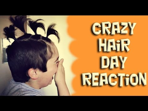 Crazy Hair Day Reaction (Daily #977)
