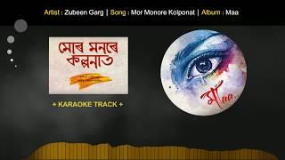 (Karaoke Track) MOR MONORE KALPANAT || MAA || Zubeen Garg (HQ Download)