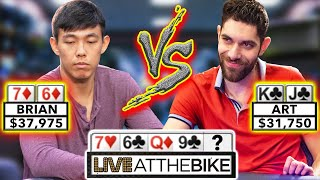 High Level River Action ♠ Live at the Bike!