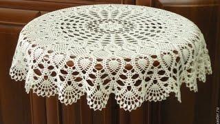 Вязание Скатерти - видео - образцы работ 2018 / Knitting Tablecloths - Video / Knitting Tischdecken