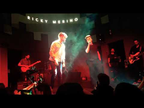 Raoul Vázquez Y Ricky Merino - This Is A Man's World - Concierto Ricky Sala Shoko Madrid