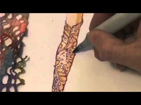 How to draw a chair youtube - Kathryn Hagen Rendering Open Weave Fabric Youtube