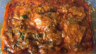 Chicken Madras (Restaurant Style)