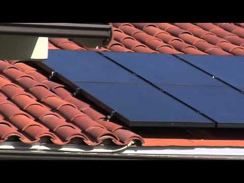 Revco Solar Panels On A Spanish Clay Tile Roof Youtube