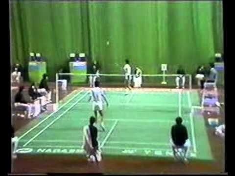 1982 Asian Games Badminton-Syed Modi vs Sze Yu