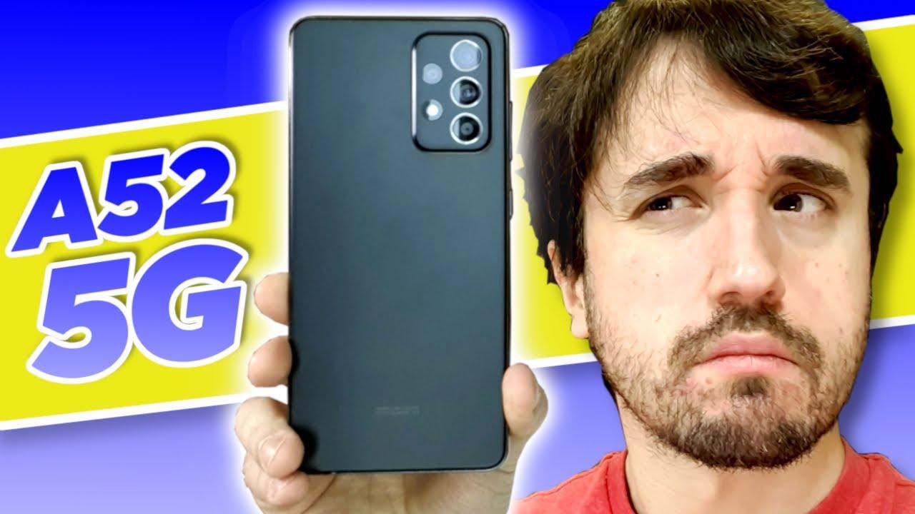 Ele é tudo isso mesmo? - Galaxy A52 5G