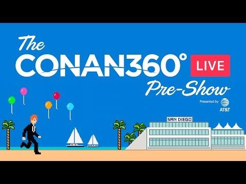 "CONAN360° LIVE Pre-Show: ""Wonder Woman"" Cold Open & More"